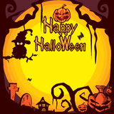 Halloween background B Stock Photography