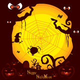 Halloween background B Royalty Free Stock Image