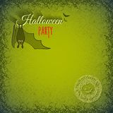 Halloween background with bat Royalty Free Stock Photos