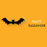 Halloween   background with bat Royalty Free Stock Photo