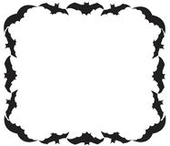 Halloween background with bats Royalty Free Stock Image