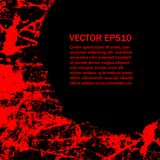 Halloween background with blood splats. Grunge style Halloween background with blood splats Royalty Free Stock Photos