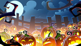 Halloween background. Colorful background on halloween 1280x720 Stock Photo