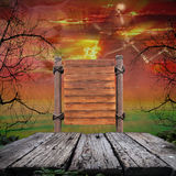 Halloween Background,copy space for your Halloween holiday text. Stock Images