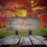 Halloween Background,copy space for your Halloween holiday text. Stock Image