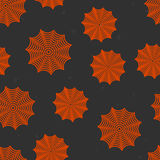 Halloween background. Halloween dark and orange background Stock Photo
