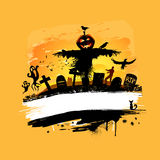Halloween Background Design Royalty Free Stock Images