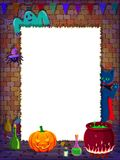 Halloween Background With Empty Space Stock Photography