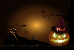 The Halloween Background Royalty Free Stock Photo