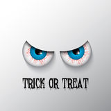 Halloween background with evil eyes Royalty Free Stock Photography