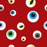 Halloween background Eyes Royalty Free Stock Image