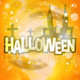 Halloween Background Festive. Graphic design illustration Stock Photo