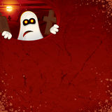 Halloween Background with Ghost Royalty Free Stock Photography