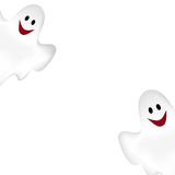 Halloween background with ghosts. Stock Photography