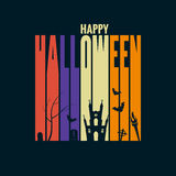 Halloween background holiday design concept Stock Image