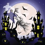 Halloween background. Stock Images