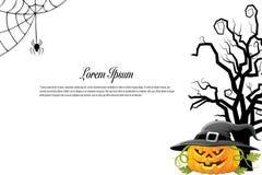 Halloween background idea concept Royalty Free Stock Photo
