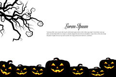 Halloween background idea concept Stock Photography