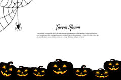 Halloween background idea concept Stock Images