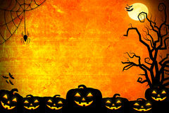 Halloween background idea concept Royalty Free Stock Images