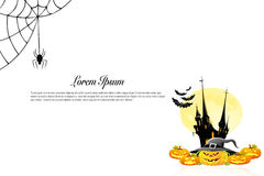 Halloween background idea concept Royalty Free Stock Photography