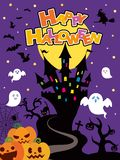 Halloween background1. It is an illustration of a Halloween stock illustration