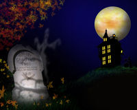 Halloween Background Illustration  Stock Photography