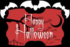 Colorful Halloween background isolated Royalty Free Stock Photography