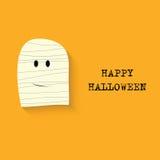 Halloween   background with mummy Stock Photos