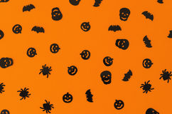 Halloween background orange 2 Stock Photo
