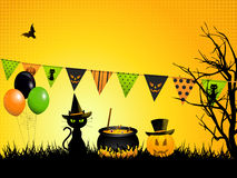 Halloween background Stock Image