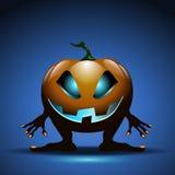 Halloween background with pumpkin Stock Photos