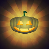 Halloween background with pumpkin Royalty Free Stock Photo