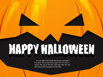 Halloween background pumpkin Royalty Free Stock Photos