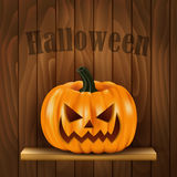 Halloween background with pumpkin royalty free illustration