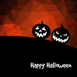 Halloween background, with pumpkins,  Stock Photo