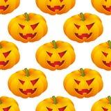 Halloween background with pumpkins Stock Photos