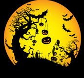 Halloween Background. Stock Photo
