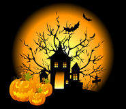Halloween Background. Stock Photo