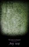 Halloween background. Shabby concrete in the darkness Royalty Free Stock Photo