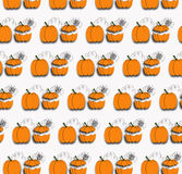 Halloween background. Simple and beautiful pumpkins on the white background for Halloween Royalty Free Stock Images