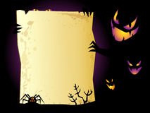 Halloween background. Halloween sinister background with space for text Stock Photography