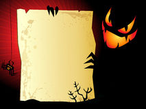 Halloween background. Halloween sinister background with space for text Stock Images
