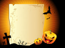 Halloween background. With space for text Stock Images