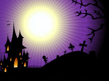 Halloween background. With space for text Royalty Free Stock Images