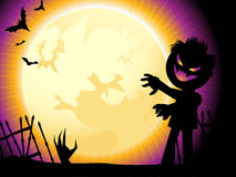 Halloween background. With space for text Royalty Free Stock Photo