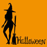 Halloween background with space for text. Stock Photo