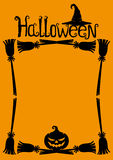 Halloween background with space for text. Royalty Free Stock Images