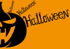 Halloween background with space for text. Stock Photos