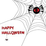 Halloween background with spider's web 3. You can find similar images in my gallery Royalty Free Stock Images